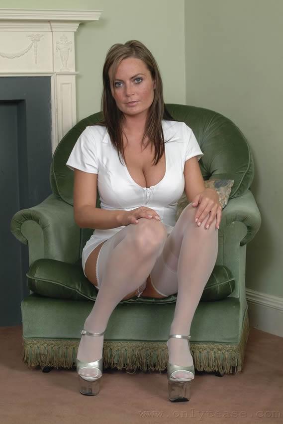 wetlook sex in uniform