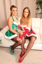 Stacey and Sarah looking amazing for Christmas - 05