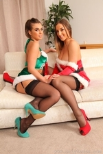 Stacey and Sarah looking amazing for Christmas - 09