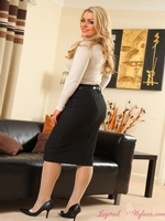 Brandy From Layered Nylons - Picture 2