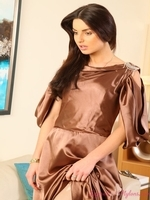 Caroline From Layered Nylons - Picture 1