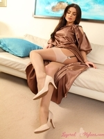 Caroline From Layered Nylons - Picture 9