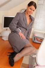 Kristina Getting Naughty In The Office - Picture 2