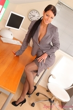 Kristina Getting Naughty In The Office - Picture 5