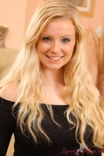 Hollie In All Black Dress And Suspenders - Picture 3