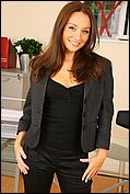 Carla Looking As Delightful As Ever As She Seductively Strips Of Her Sexy Secretary Outfit In The Office - Picture 1