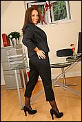 Carla Looking As Delightful As Ever As She Seductively Strips Of Her Sexy Secretary Outfit In The Office - Picture 5