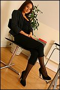 Carla Looking As Delightful As Ever As She Seductively Strips Of Her Sexy Secretary Outfit In The Office - Picture 7