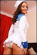 Carla Looks Ship Shape As She Slowley Teases Her Way Out Of Her Gorgeous Sailors Outfit - Picture 5