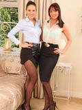 Sandra in pantyhose – Only Secretaries