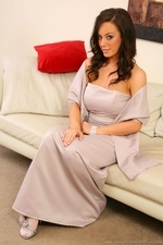 Lindsey Strutt Looking Sensational In Her Long - Picture 3