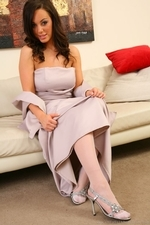 Lindsey Strutt Looking Sensational In Her Long - Picture 4